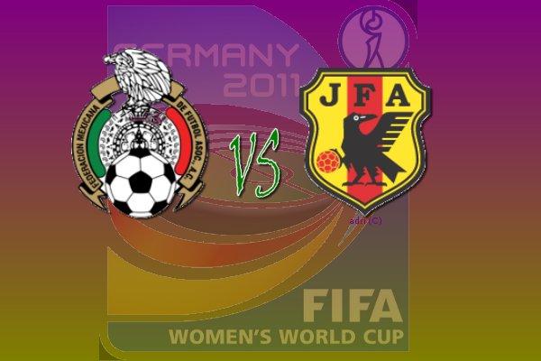 México vs Japón, Mundial Femenil 2011